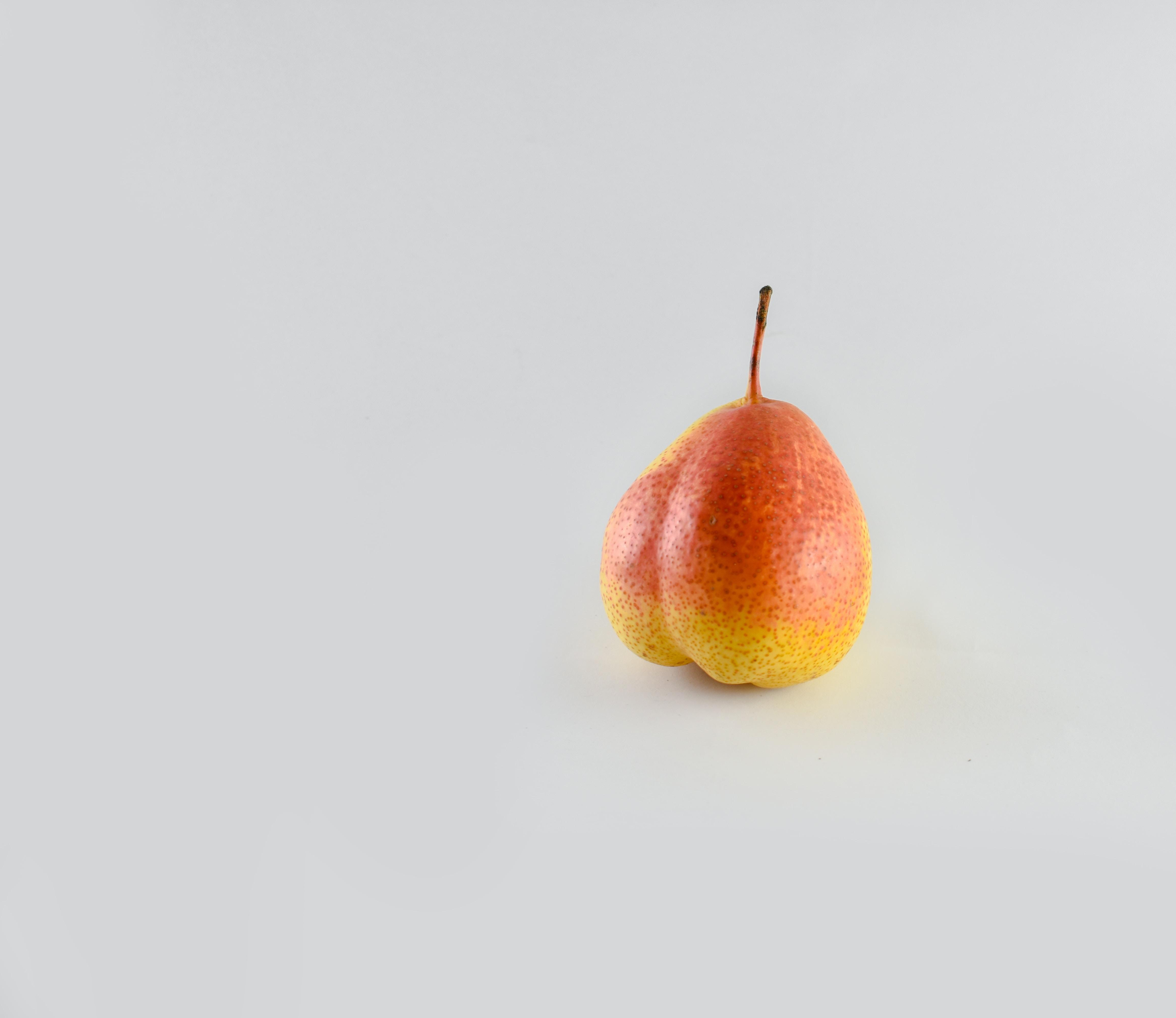 red and orange fruit