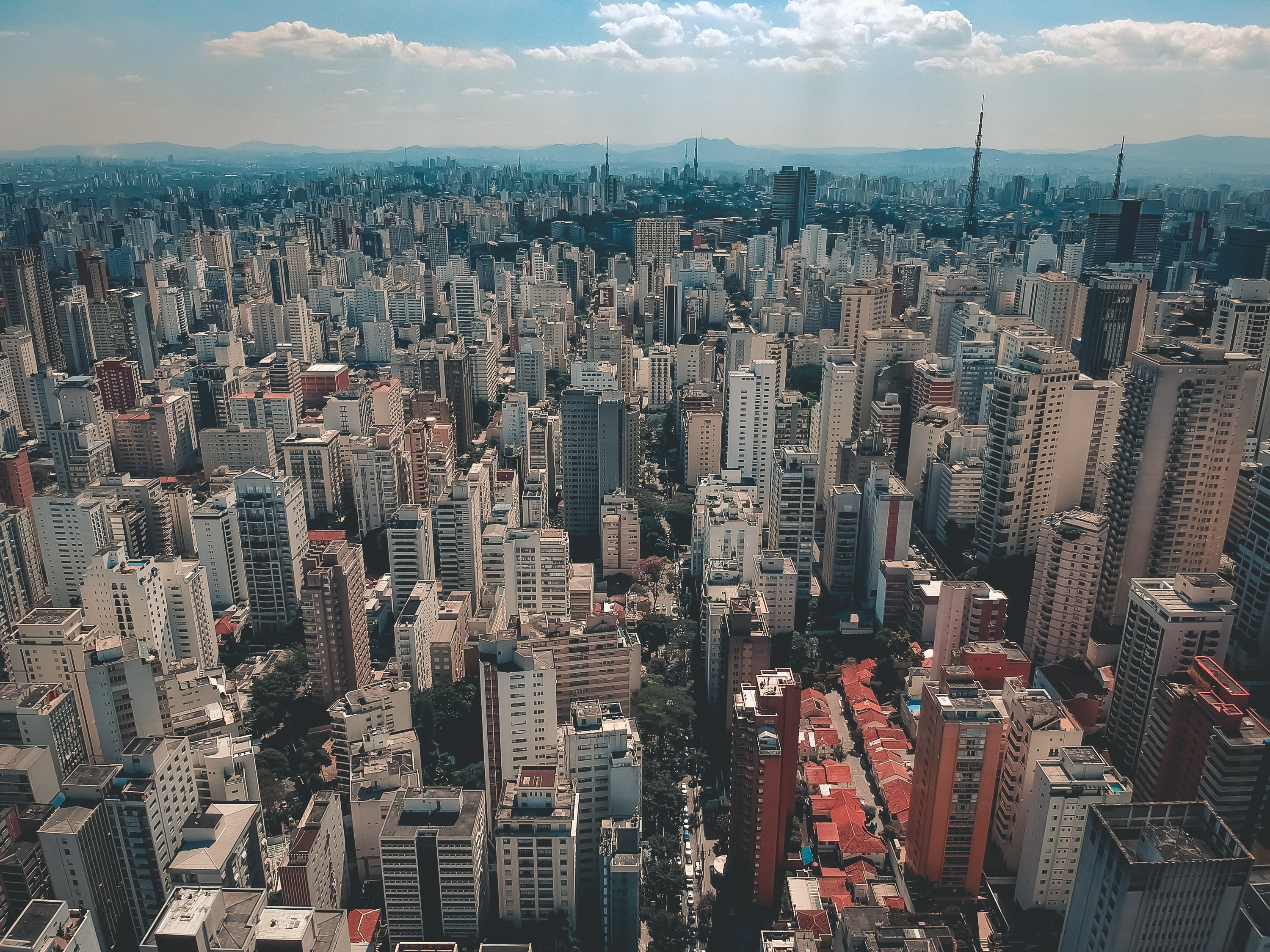 aerial photo of city buildings during daytime