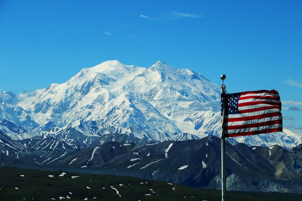 USA flag pole