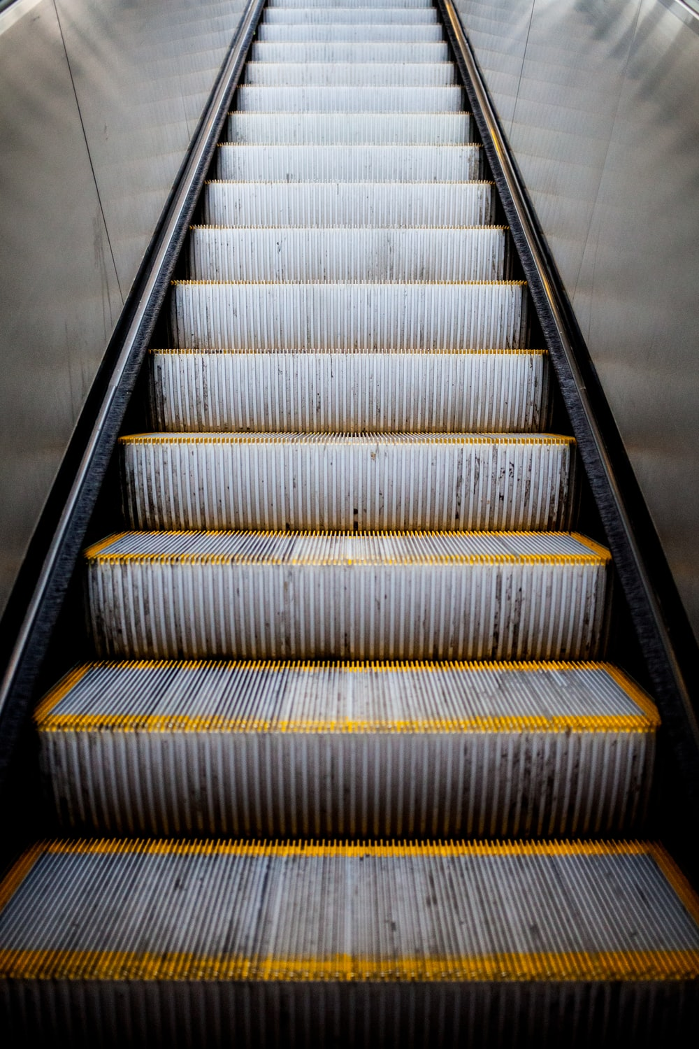 Escalator To The Link Light Rail In S Hd Photo By Nick