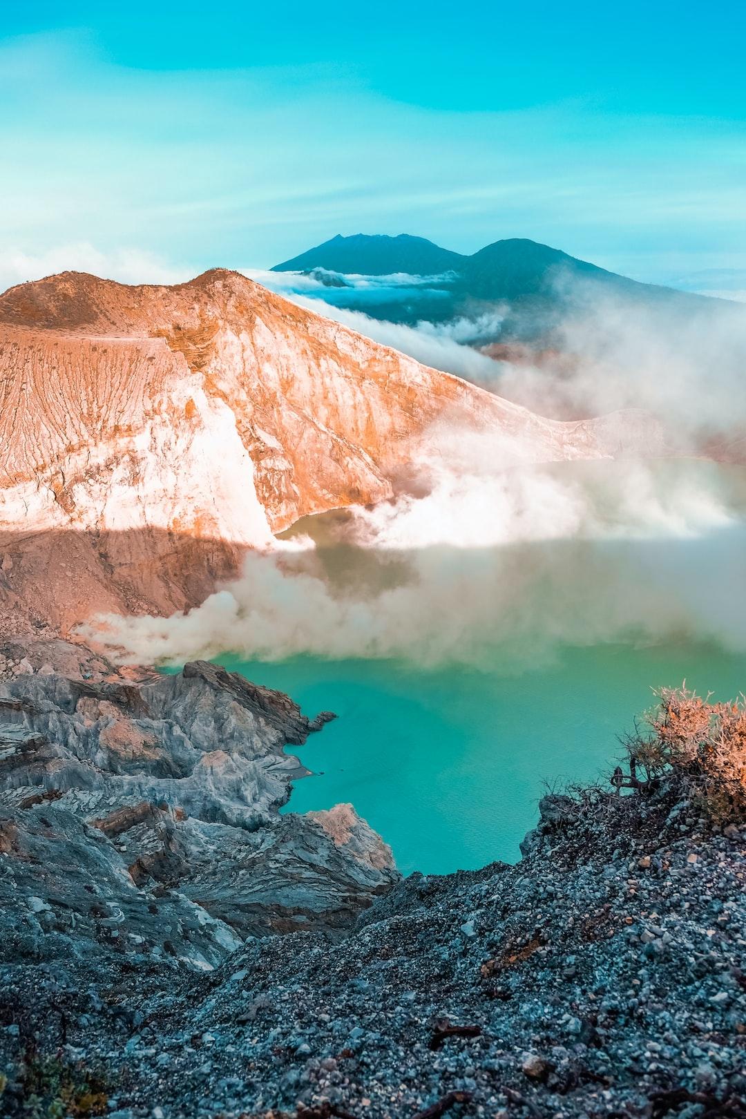 Ijen Crater - East Java - Indonesia