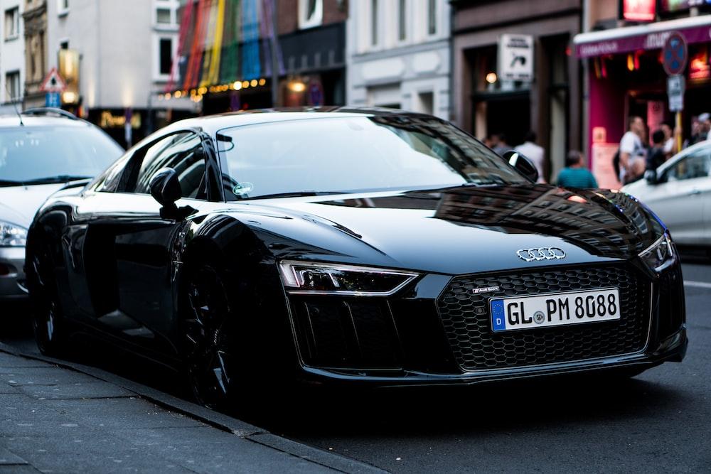 Audi R Pictures Download Free Images On Unsplash - Black audi r8