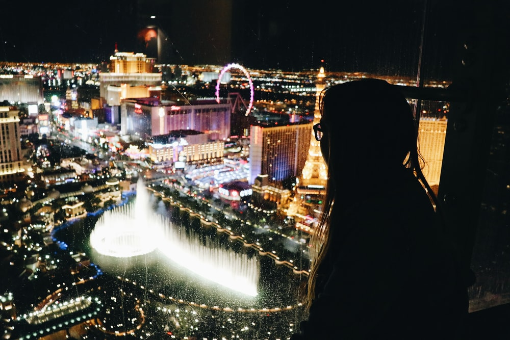 Las Vegas View From Cosmopolitan Hotel Hd Photo By Juliana