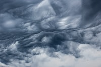 photo of cloud formation