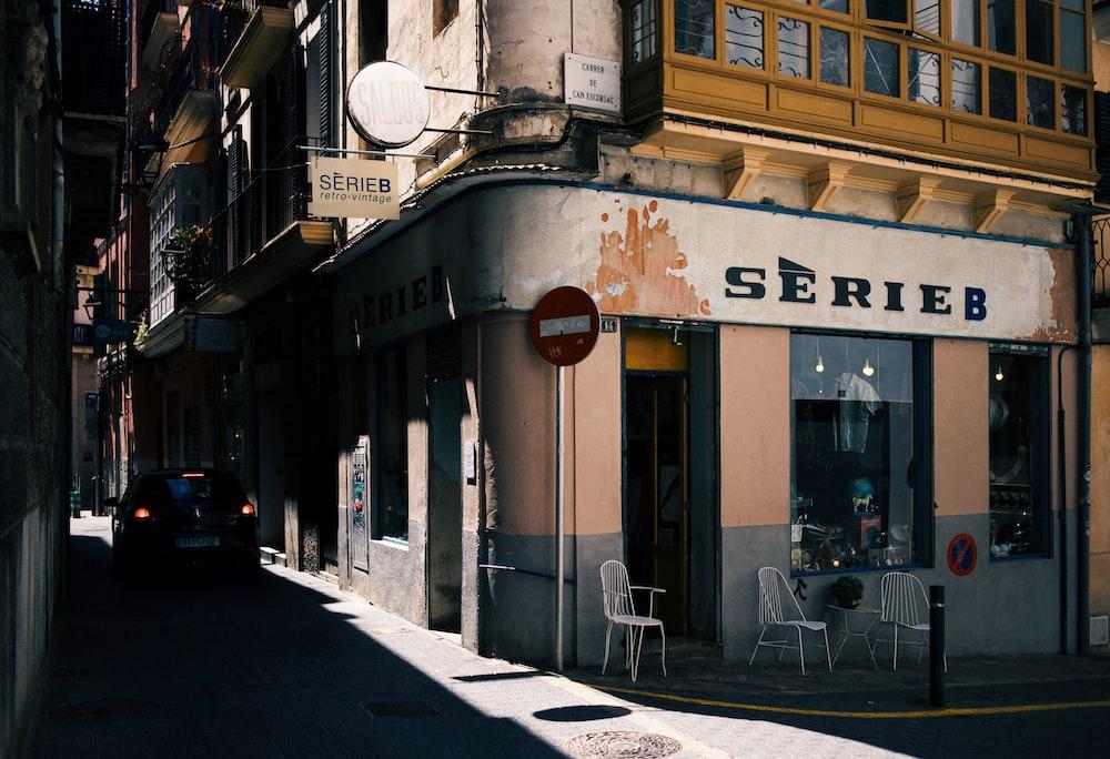 SerieB building near alley