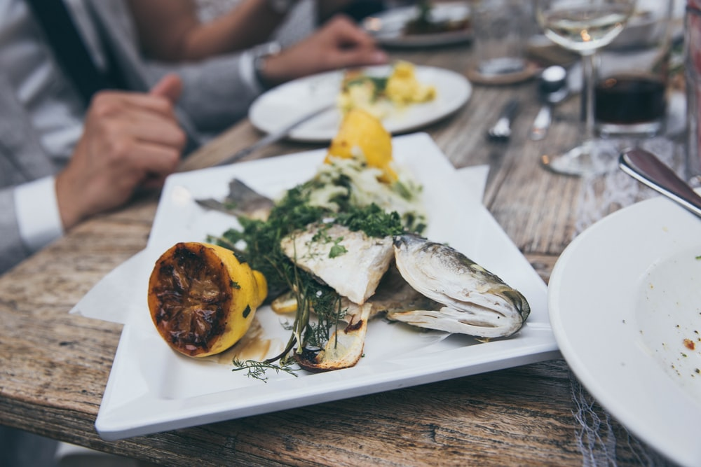 served fish