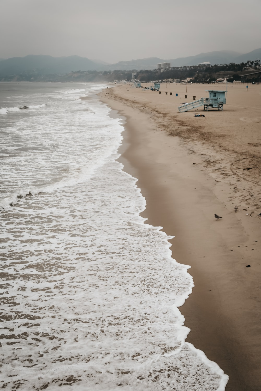 lifeguard house on seashore