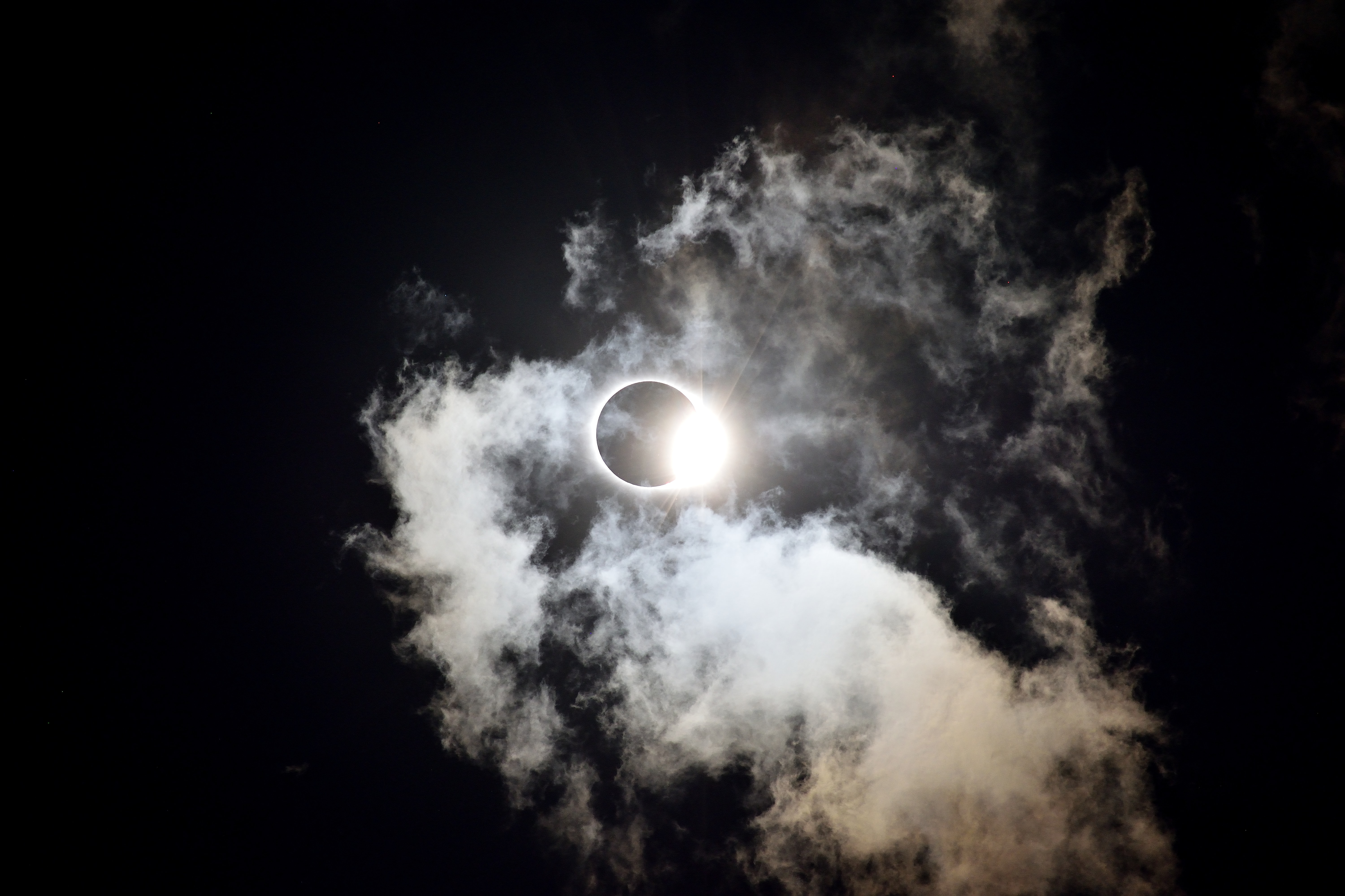 During move-in week the solar eclipse passed over us. Experiencing it and being able to take photos of it was the adventure of a lifetime.