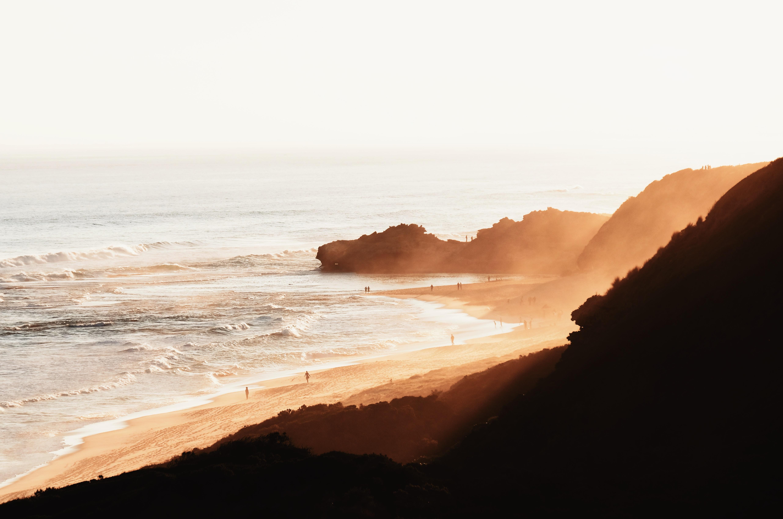 beach during daytime