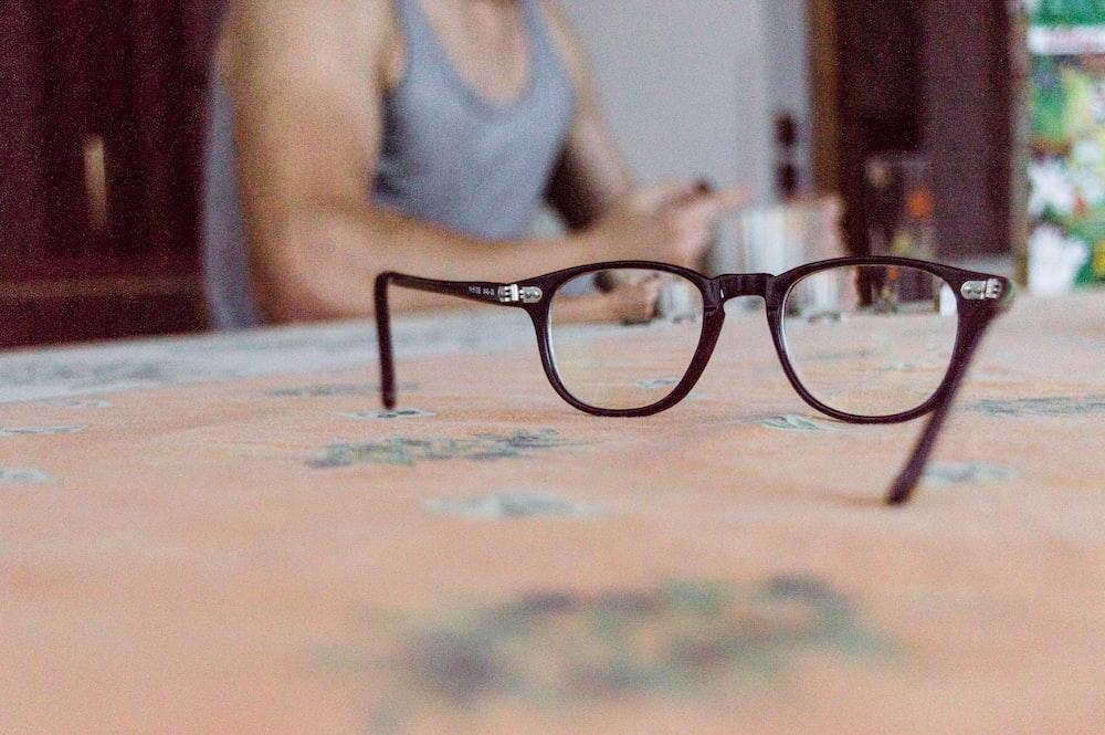 wayfarer eyeglasses with black frames