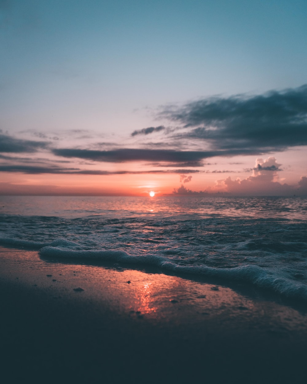 beach during dawn