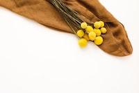 brown textile