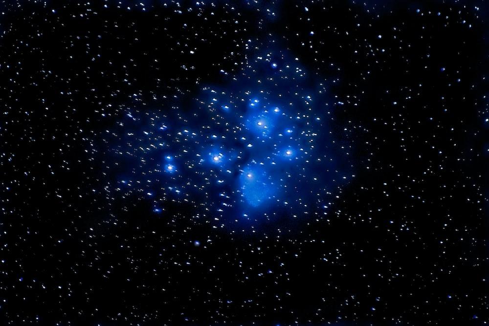 black night sky