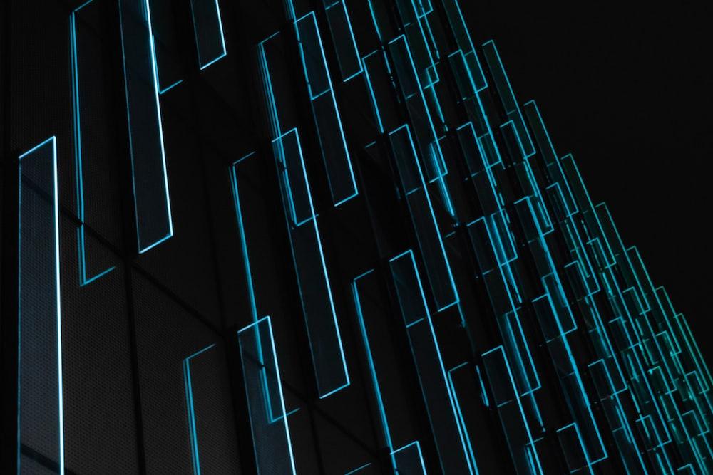 teal light fixture wallpaper