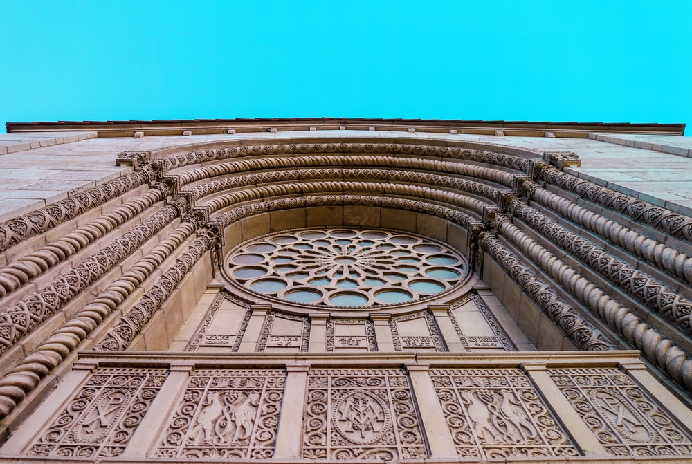 brown cathedral