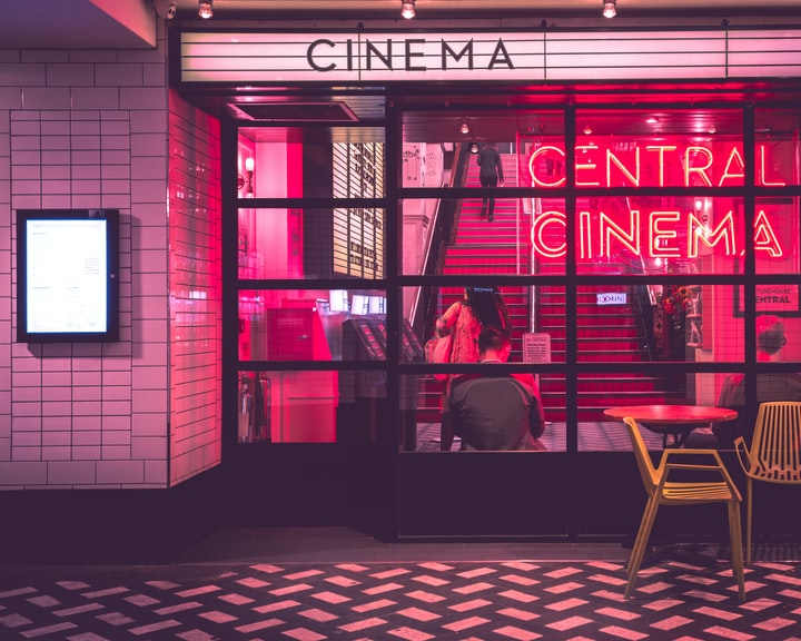 Why do we love going to the movies?