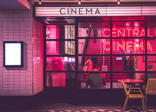 photography of Cinema