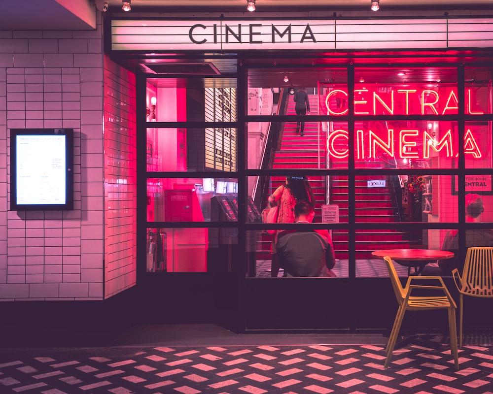 photography of Cinema