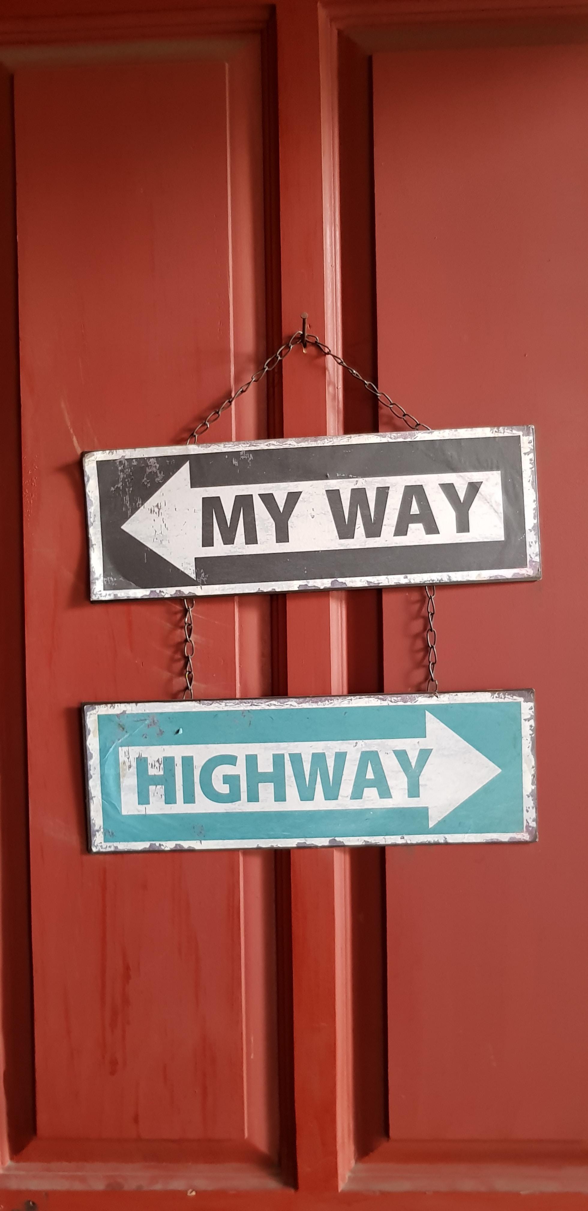 My Way signage