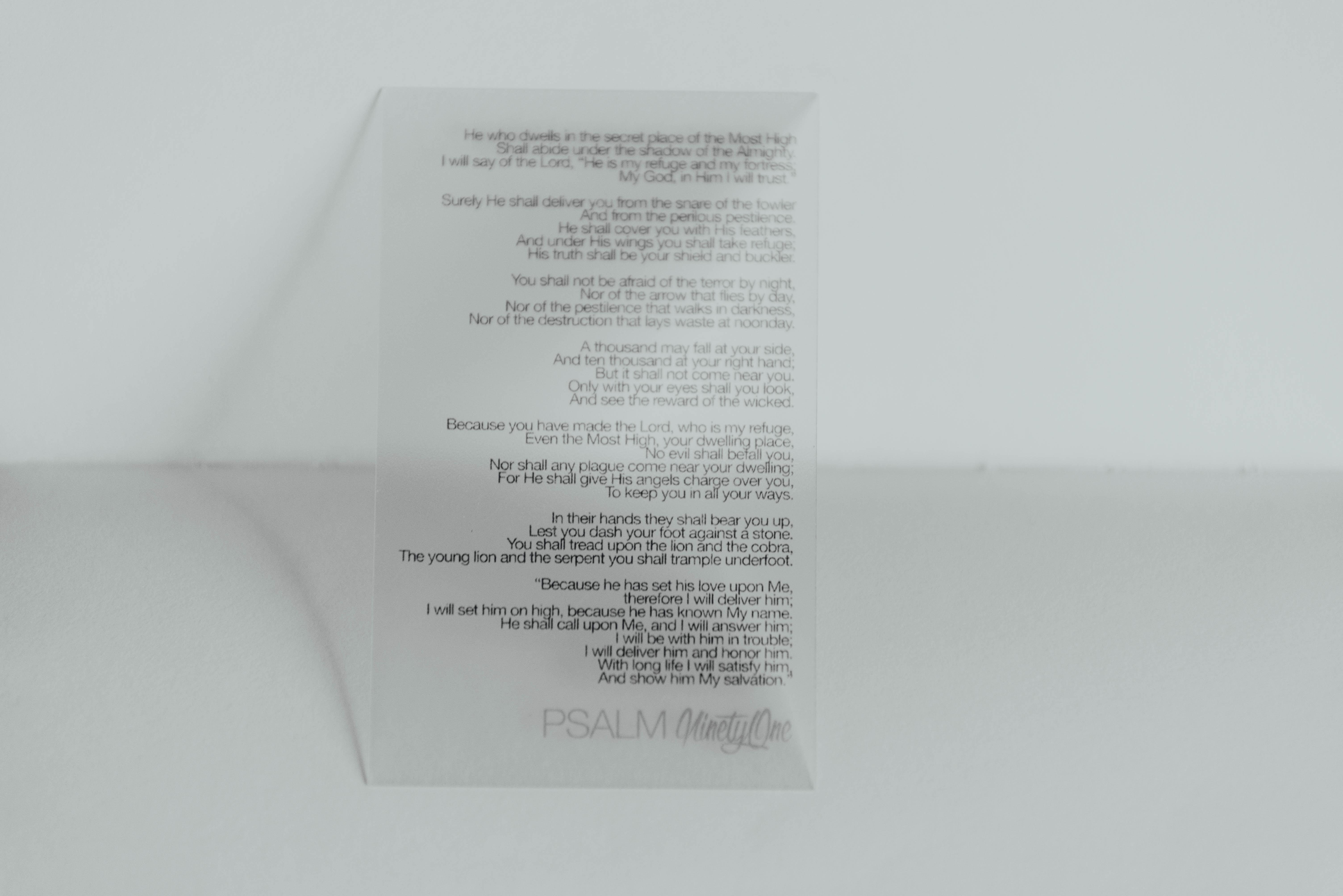 white printing paper on white top