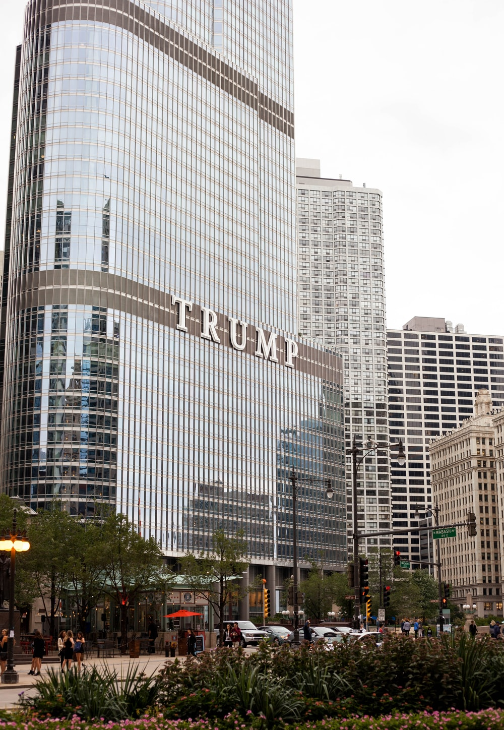 Trump building during daytime