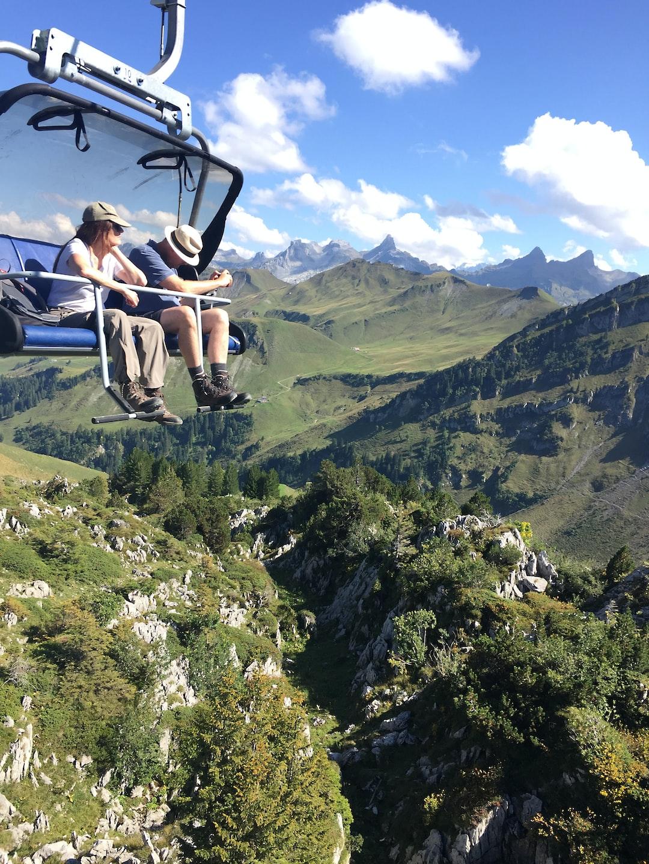 Wonderful day in Stoos Switzerland.