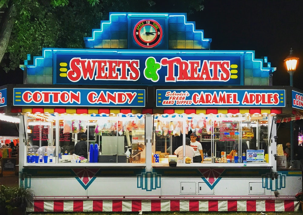 Sweets & Treats food stall