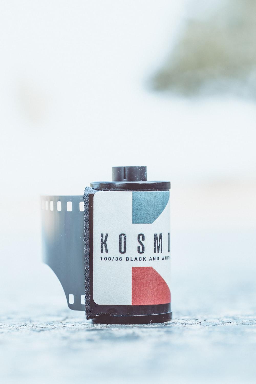 black Kosmo camera film
