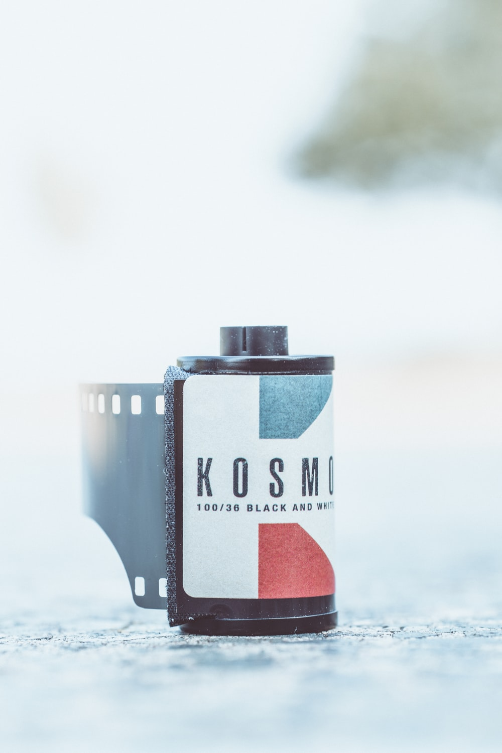 black Kosmo camera film