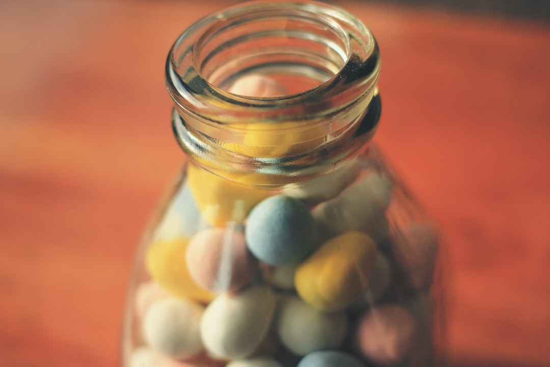 My friend keeps her candies in a bottle, it is usually full when I go to her house, but empty when I leave, what?