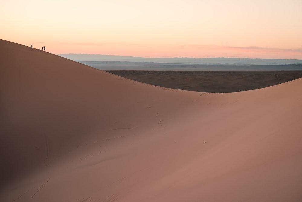 sahara desert at daytime