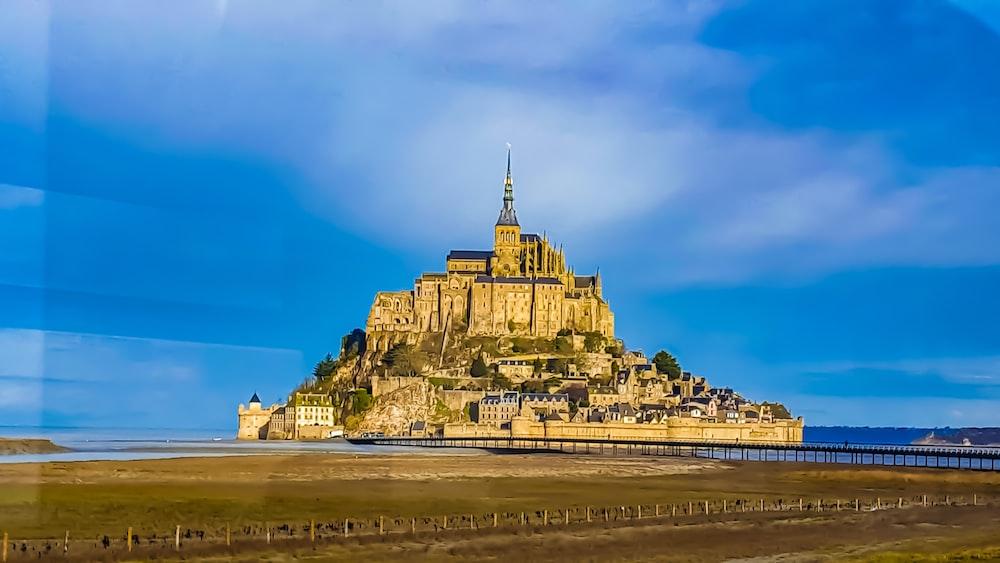 beige castle