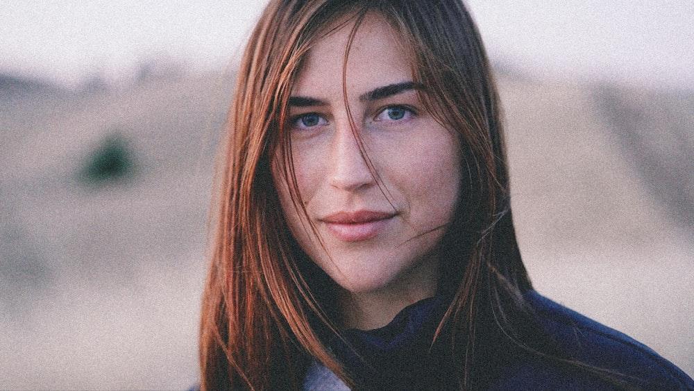 woman close-up photography