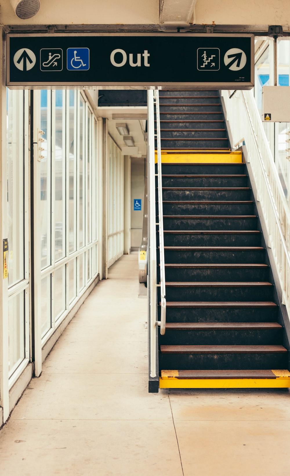 turned-off escalator