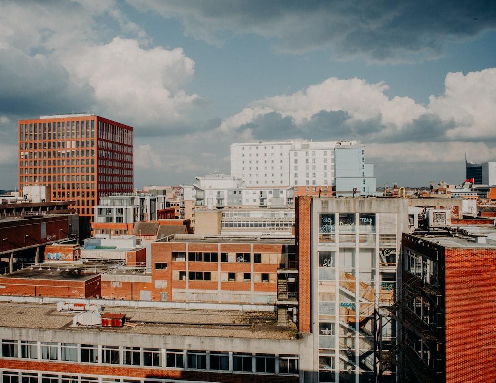 cityscape buildings