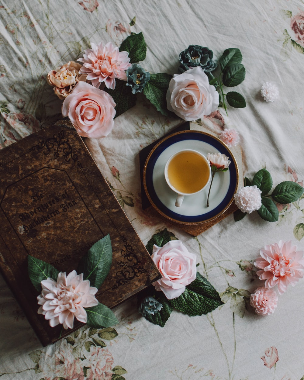 tea and a book are the best companions