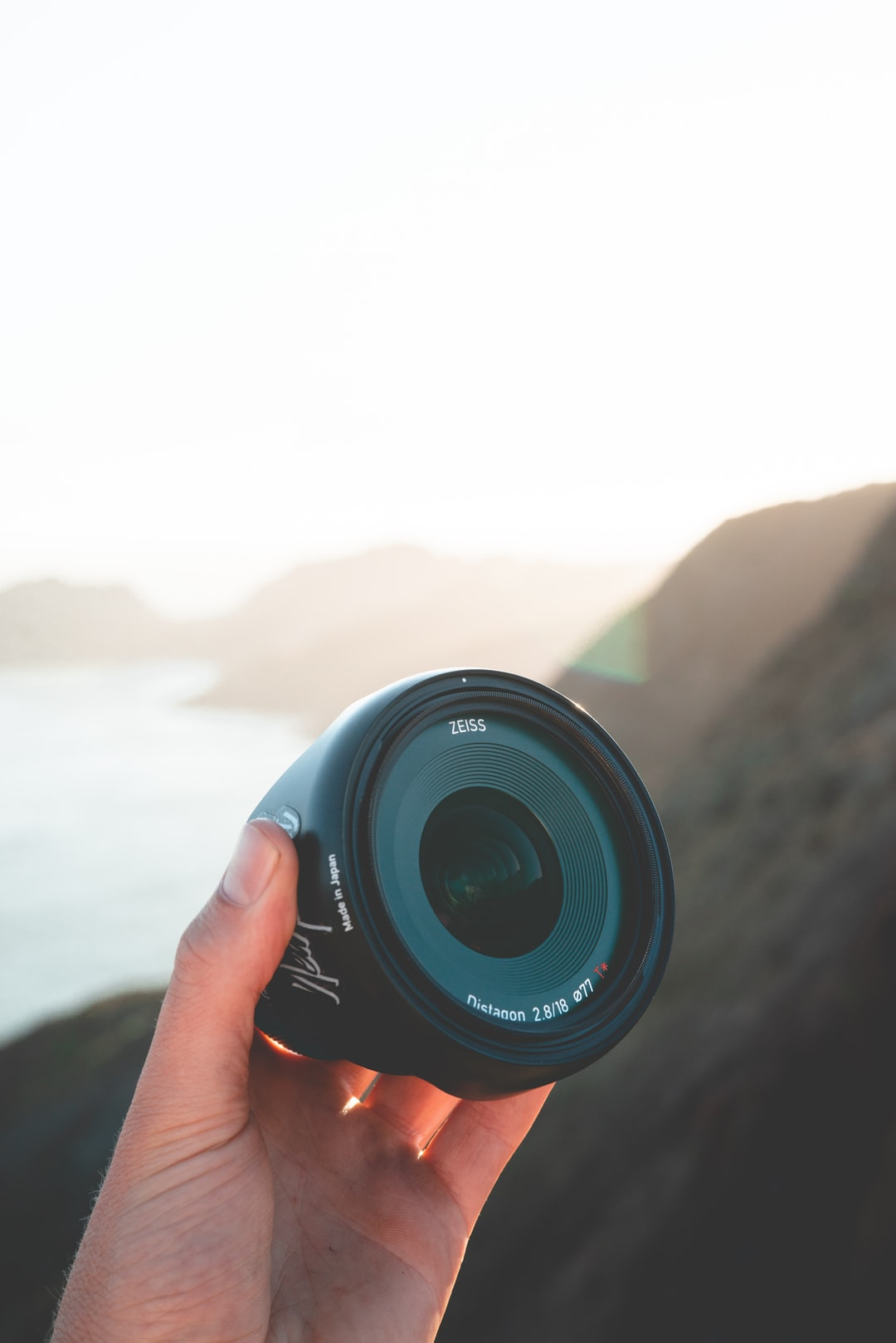 This lens is great for shooting along the coast when you need to fit expansive views into the frame.