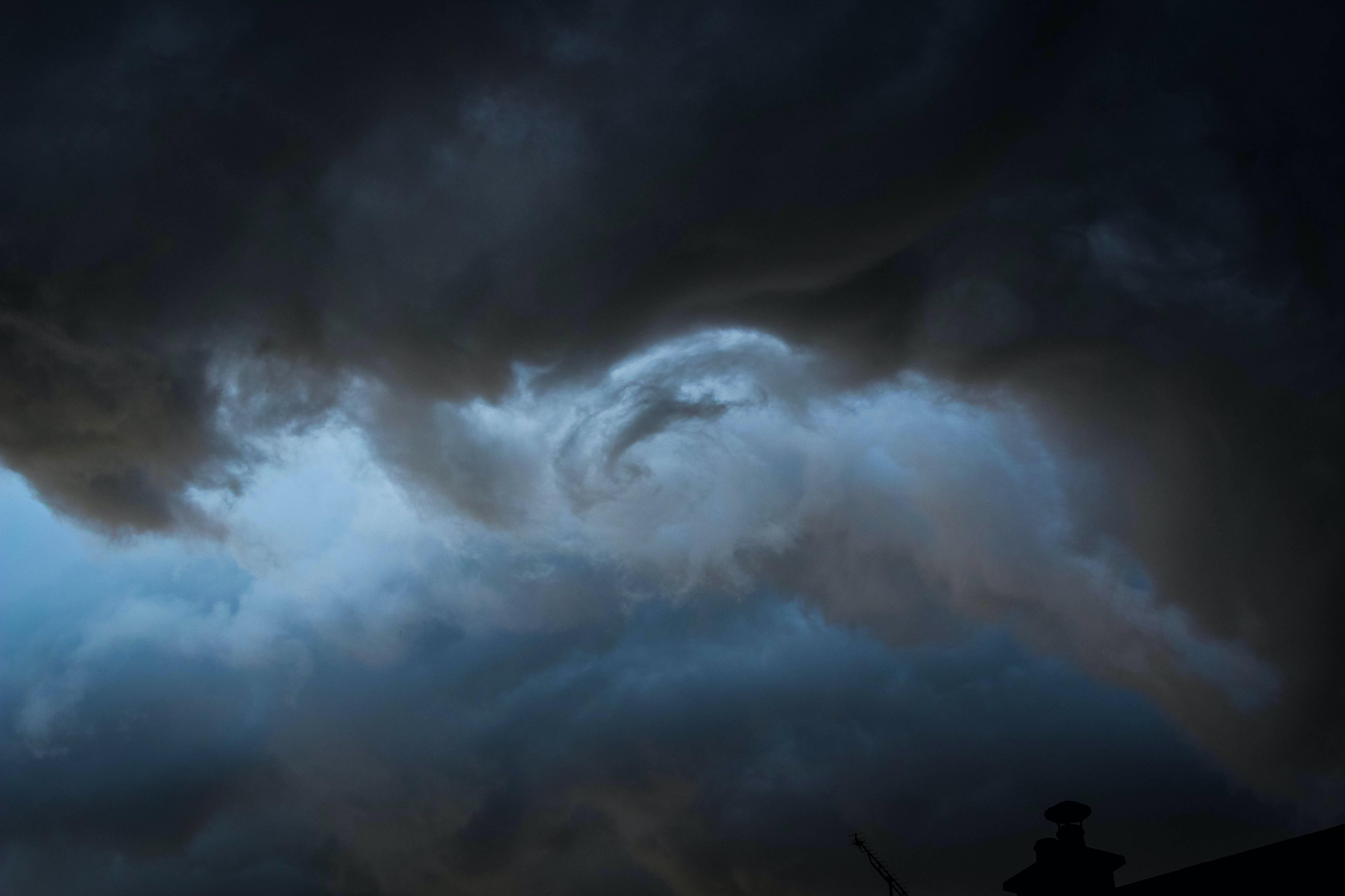 cloudy sky illustration