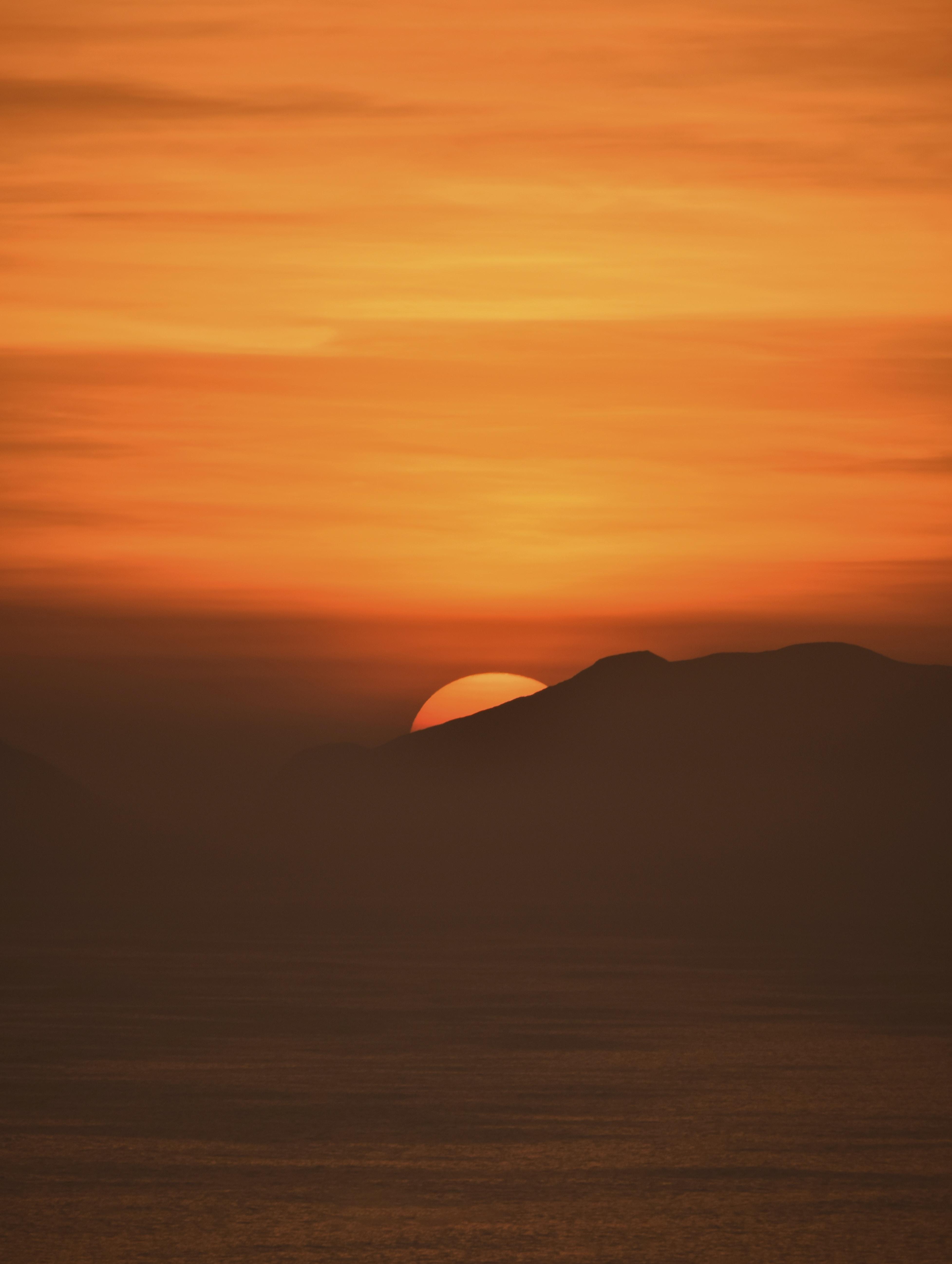 golden hour sun