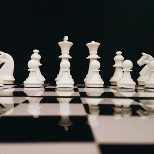 We Begin Our Life On A Chess Board