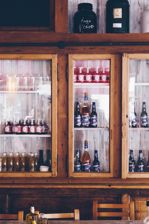 assorted bottle lot