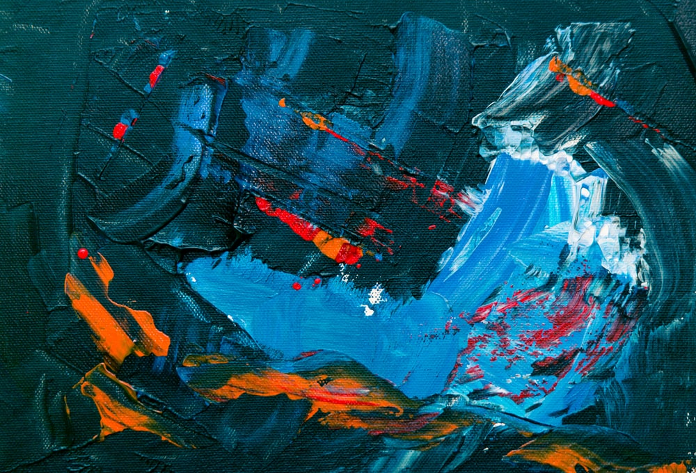 abstract painting artwork