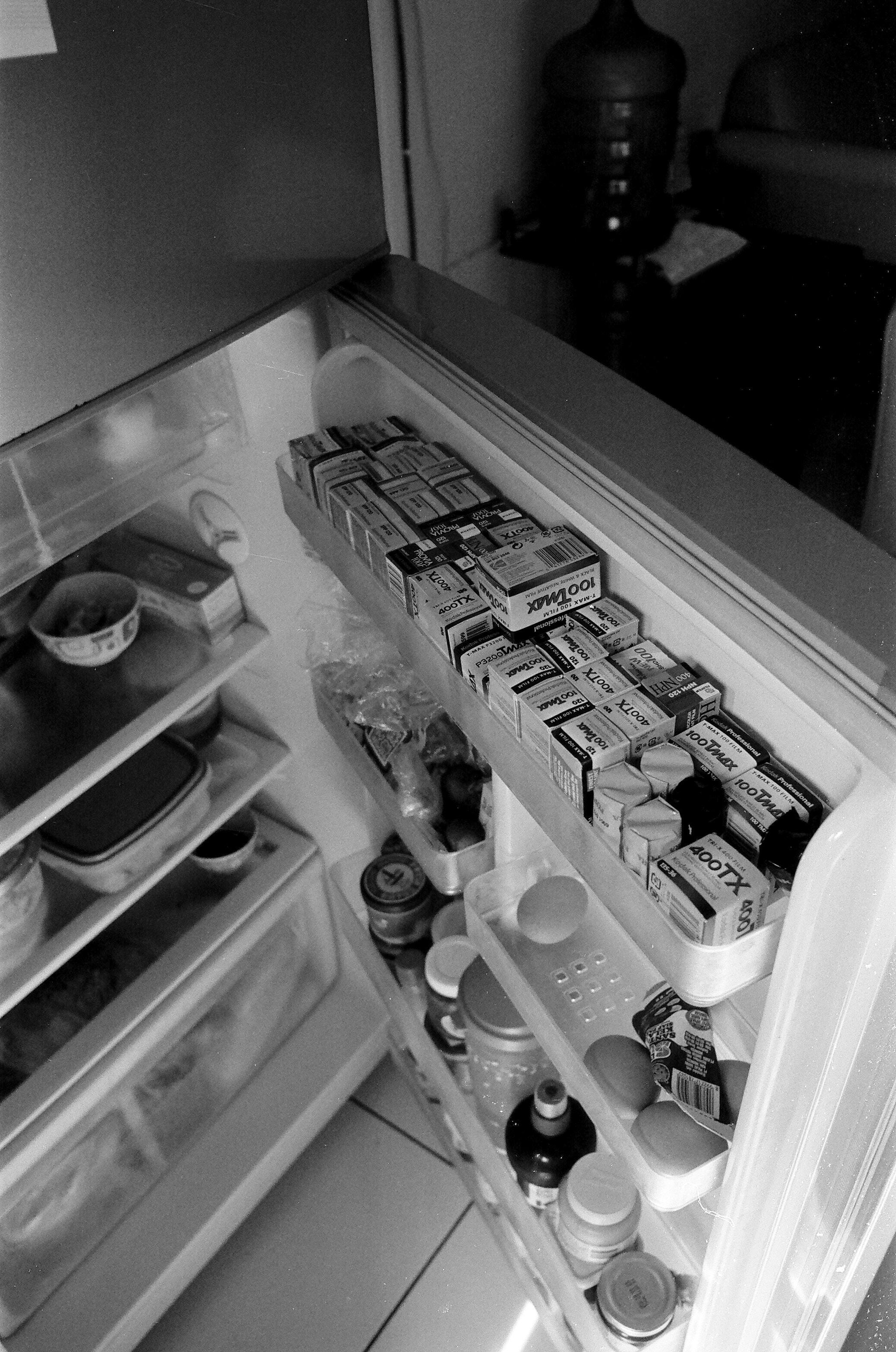 open top-mount refrigerator