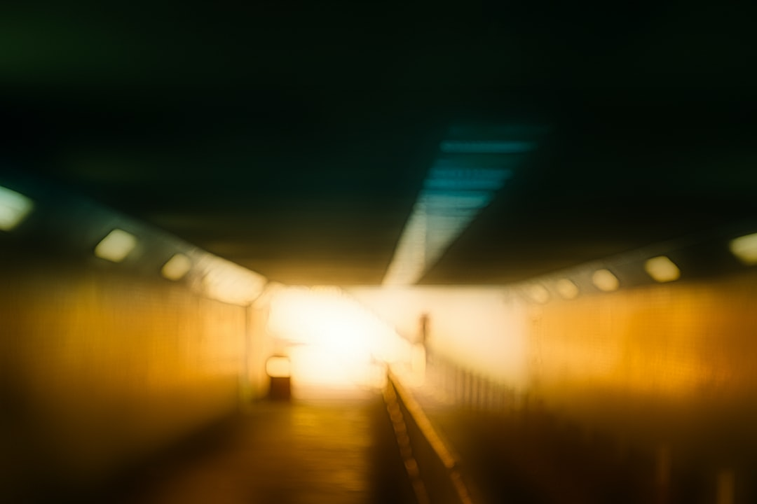I always walks through this tunnel every Sunday's morning. It is a typical type of tunnel in Hong Kong. But this one is longer than most of others. And, in the morning, the sunlight makes it in a contrast looks. This makes me have a feeling of hope. I think, we will overcome at last.