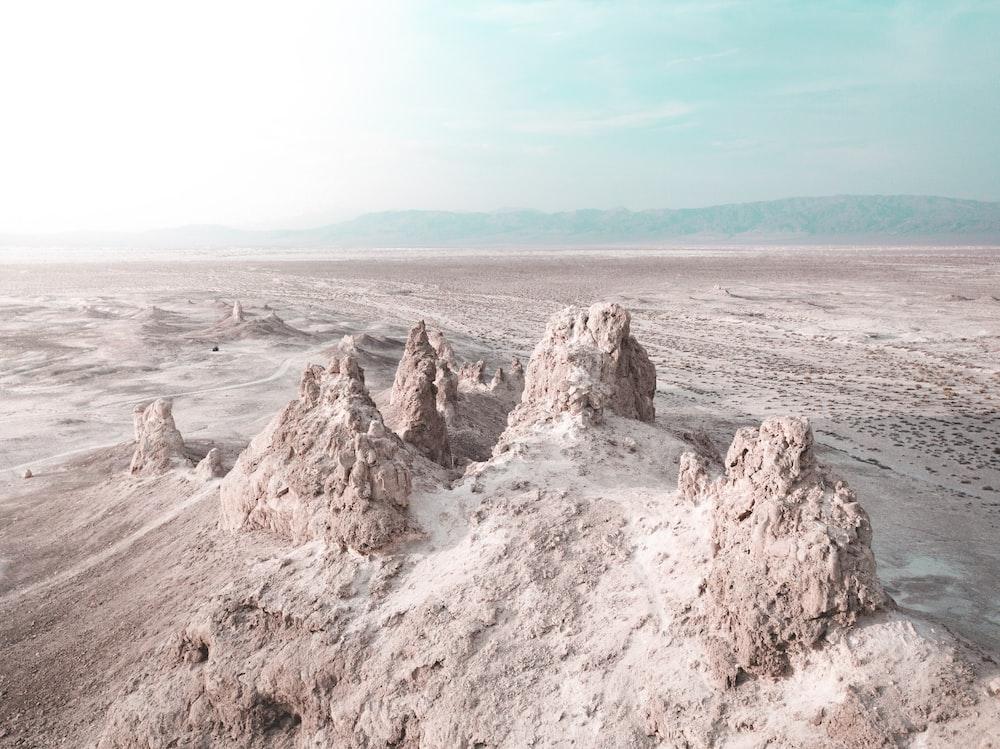 beige sand during daytime