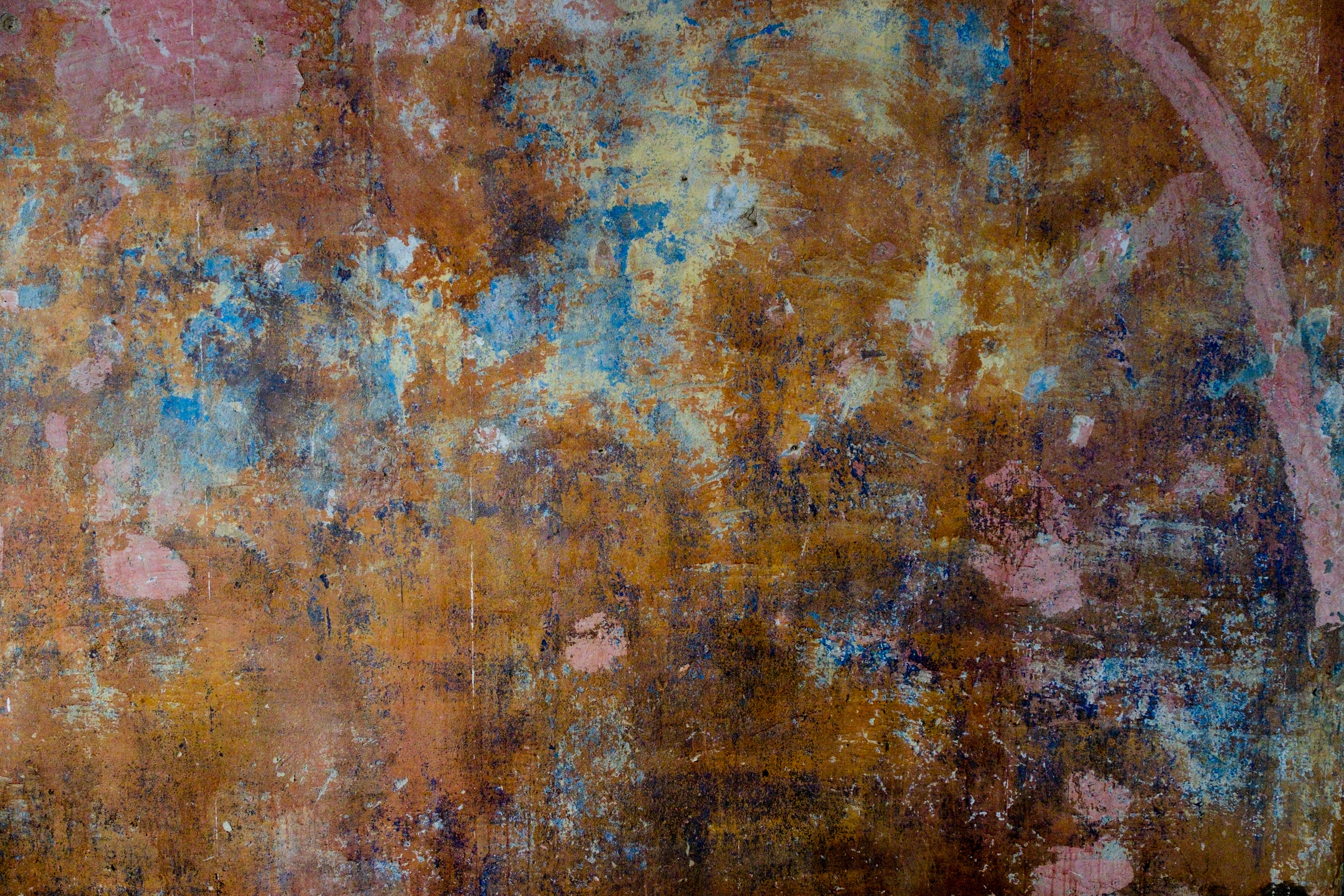 brown and pink wooden surface