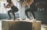 men's black leggings
