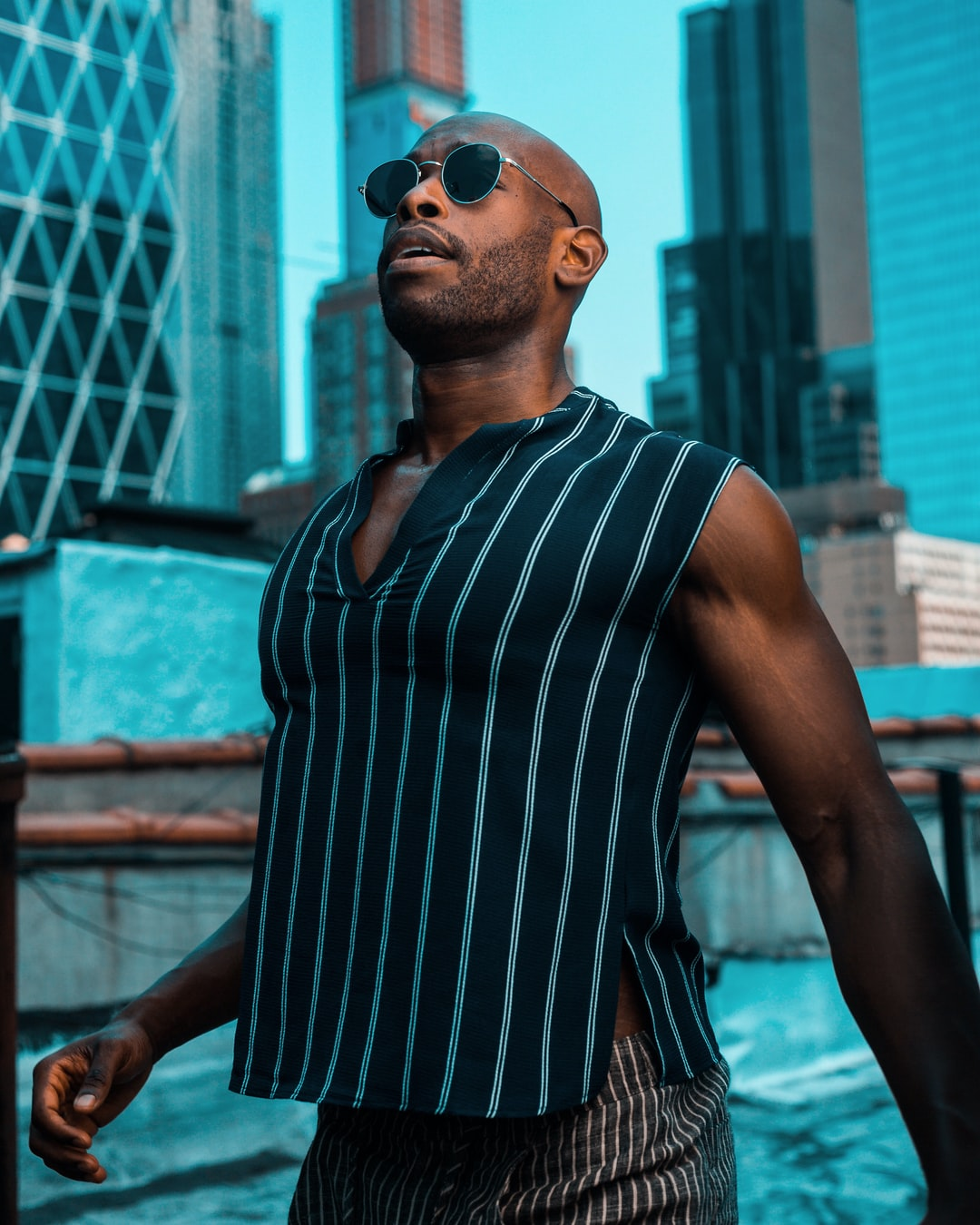 My bud, Donald, is a fellow Broadway actor. We captured this on my nyc rooftop and felt that it had such a beautiful energy.