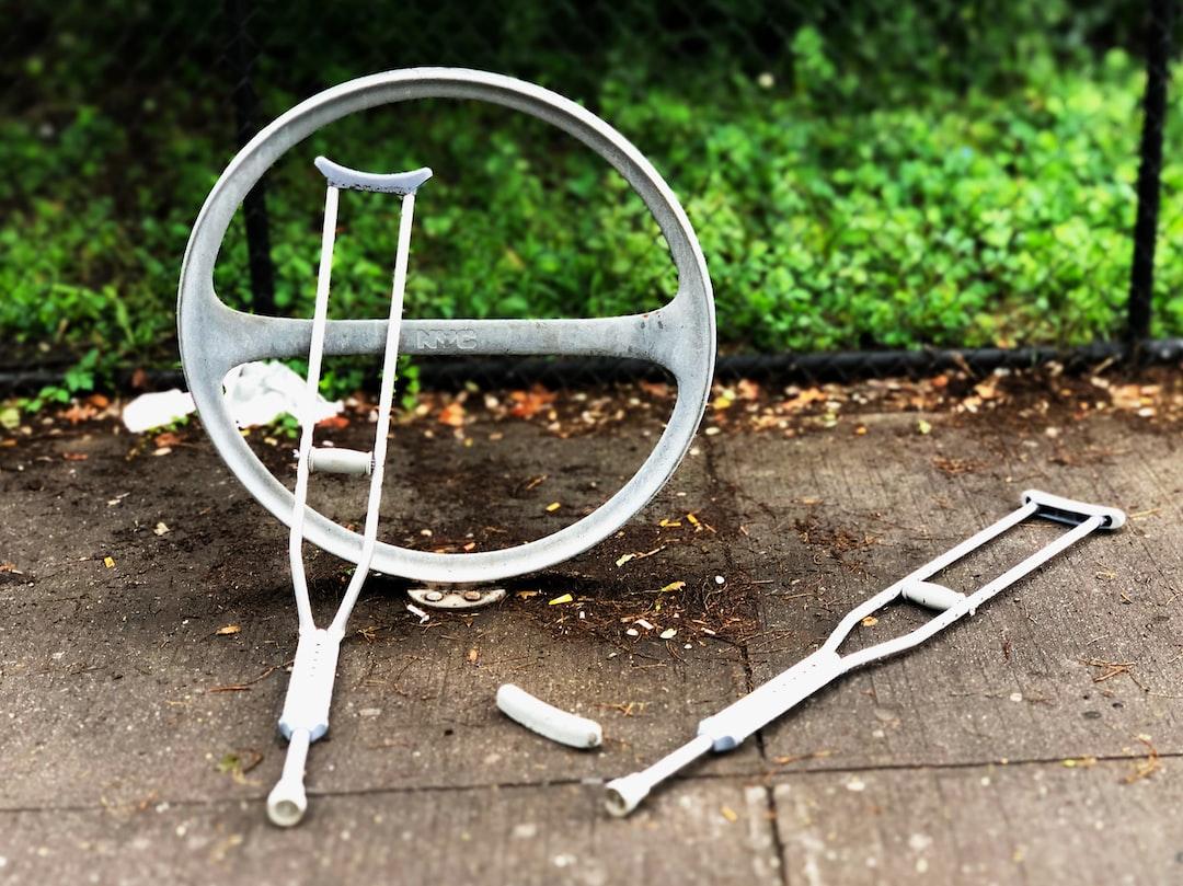 Broken crutches