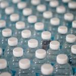 stock de garrafas de água